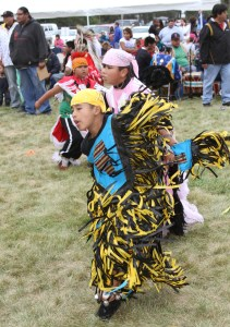 St. Joseph's Indian School holds a powwow annually for the Lakota children, their families and guests from around the world.