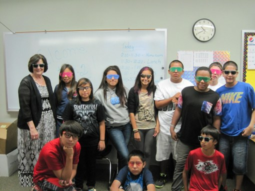 "To start the year, St. Joseph's students and teachers adopted the saying ""Our Future is so Bright, We Have to Wear Shades"