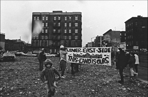 Photo: Lower East Side - This Land is Ours by Marlis Momber