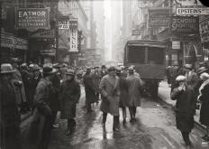 Photo: Nassau Street Looking South from Fulton Street, March 3, 1926