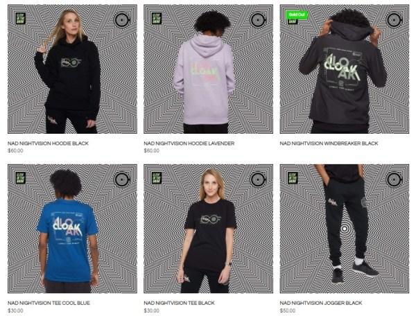 gamming apparel store cloak
