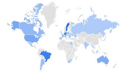 one piece google trending product per region