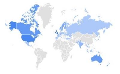 reversible google trending product per region