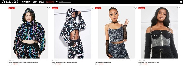 winter crop top style example dolls kill