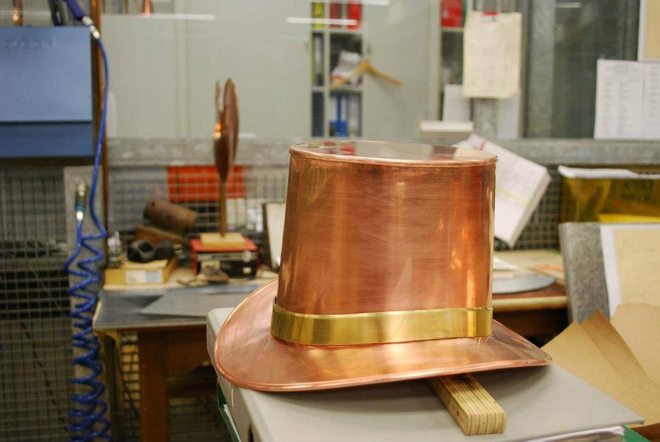 Copper Top Hat by Brice Martin