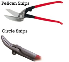 Pelican and Circle Snips