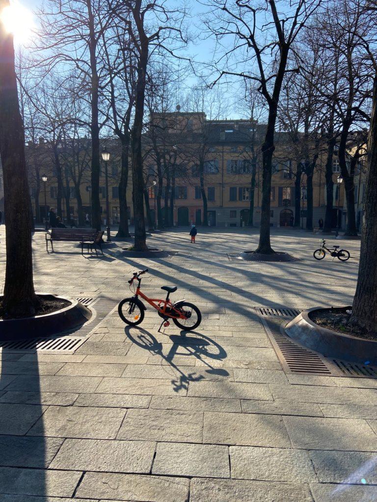 Piazza Fontanesi Reggio Emilia