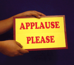 Applause Please