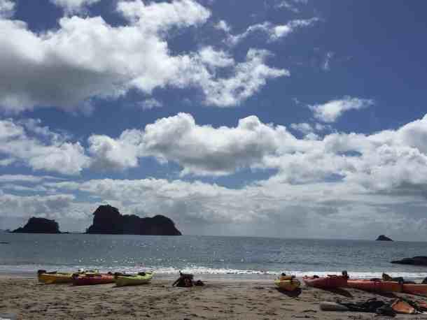 Sea Kayak in Hahei