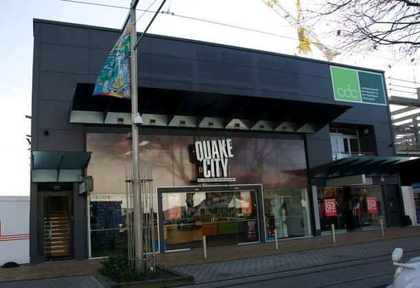Quake City exhibit in Christchurch, New Zealand.