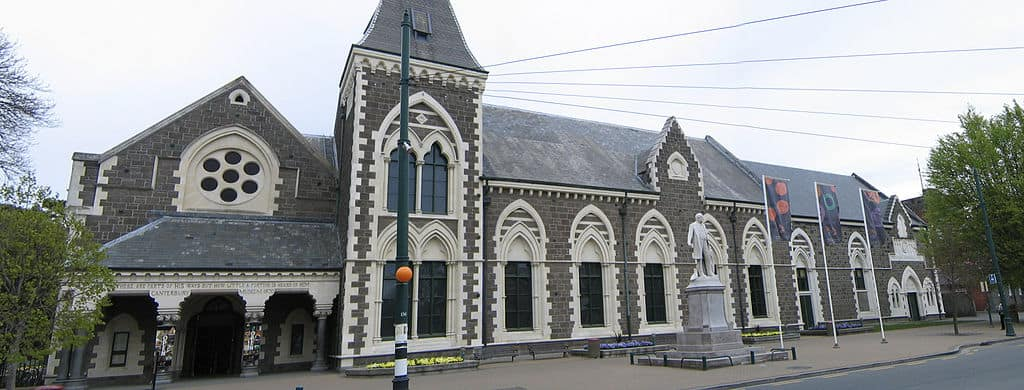 Canterbury Museum in central Christchurch