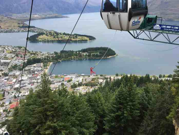 Skyline bungy jump Queenstown