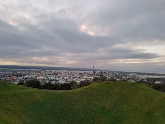 Climbing Mt Eden Summit in Auckland