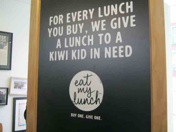 Eat My Lunch provides lunch to Kiwi kids in need