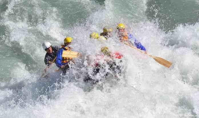 Class 5 rapids with Rangitata Rafts - Stray New Zealand