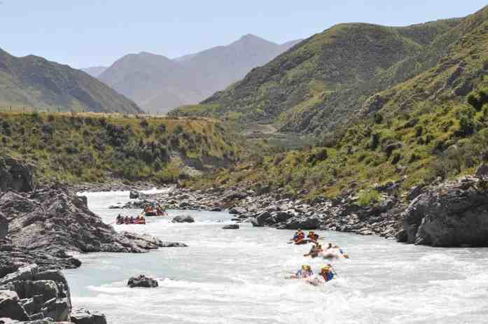Rangitata Rafts rafting through Middle earth- Stray New Zealand