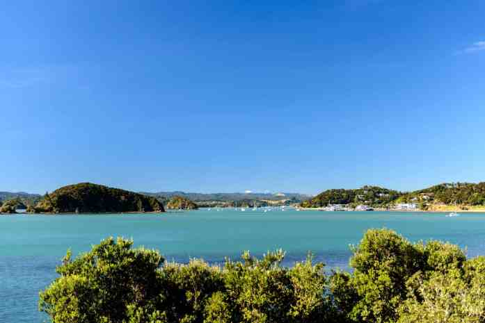 Paihia - Stray NZ - view of Bay of Islands