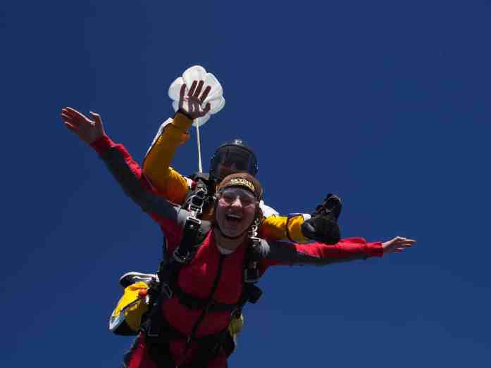Skydive Bay of Islands - eyes wide open - Stray NZ
