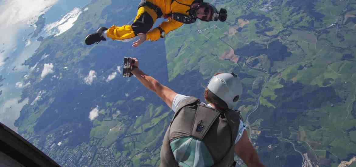 Skydive Bay of Islands tips for perfect skydive photos - Stray NZ