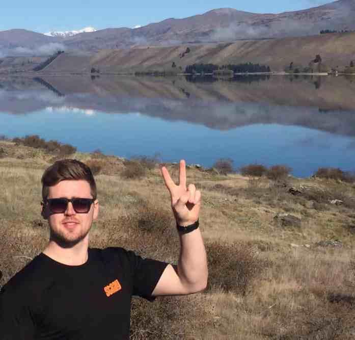 Australasia Sales Manager Ollie Allum