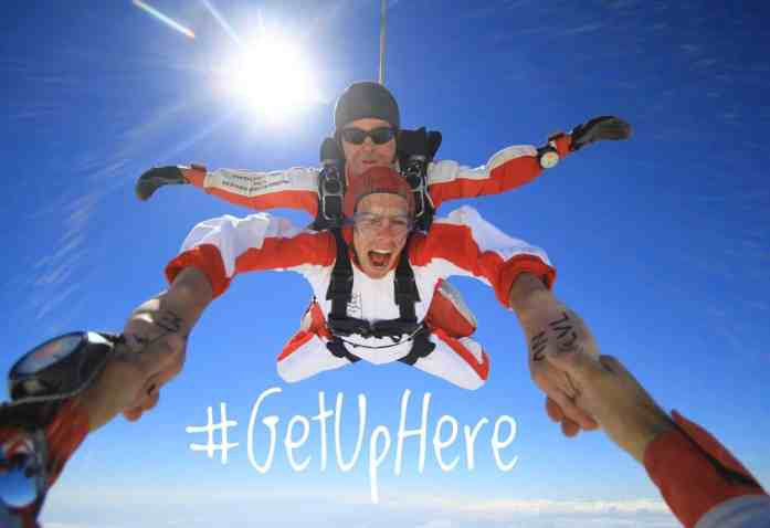Skydive Abel Tasman - #GetUpHere