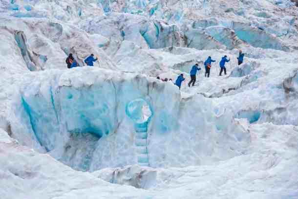 climb glaciers in nz