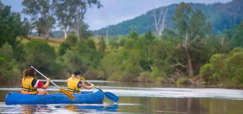 river retreat canoeing nymboida
