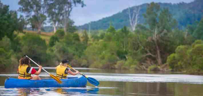 river retreat canoeing nymboida