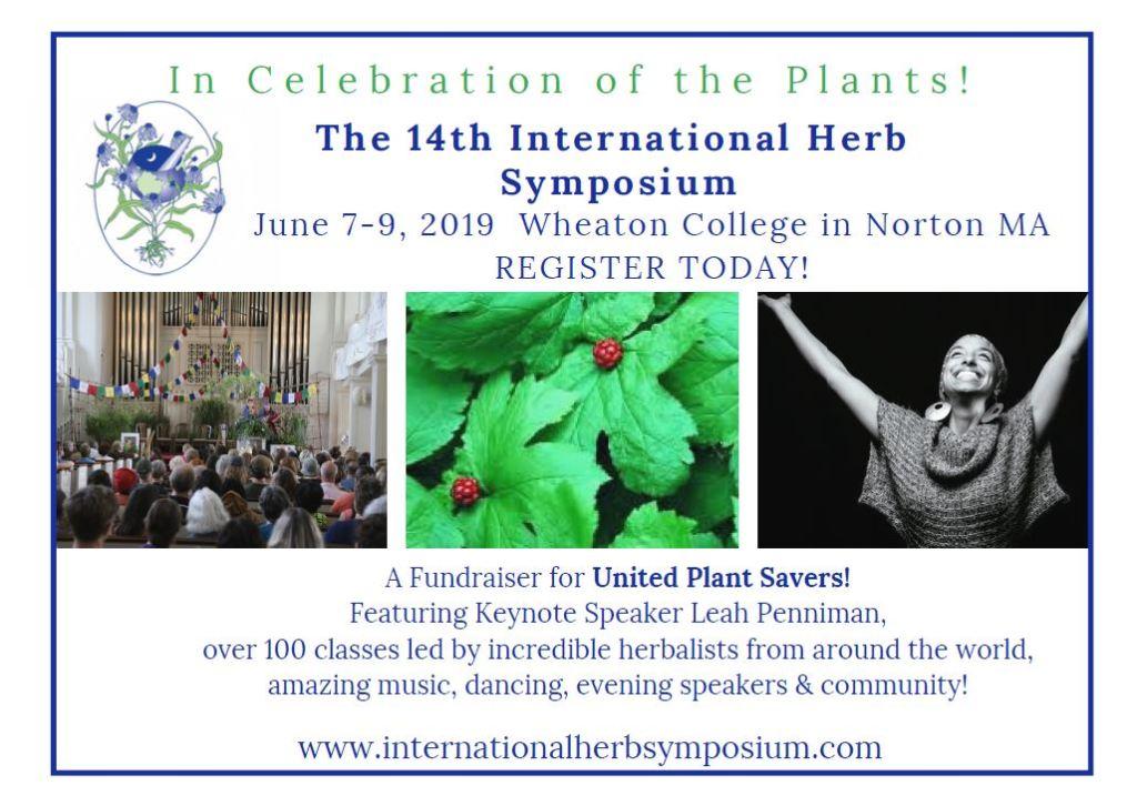 14th International Herb Symposium 2019