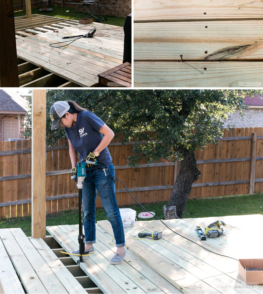 Diy You Can Have A Cool Floating Deck Part 1 Building