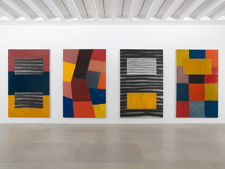 Stuart Bush Studio Blog, Sean Scully review