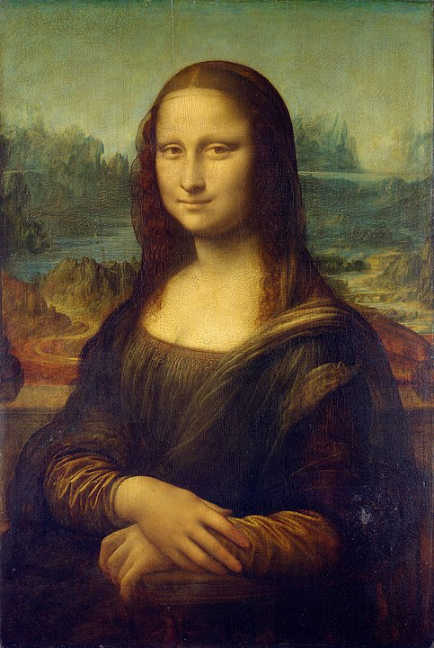 Leonardo Da Vinci Mona Lisa 1503-1507 The Louvre