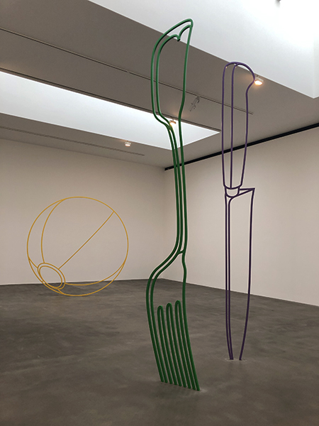Stuart Bush Studio Blog, Michael Craig Martin Sculpture