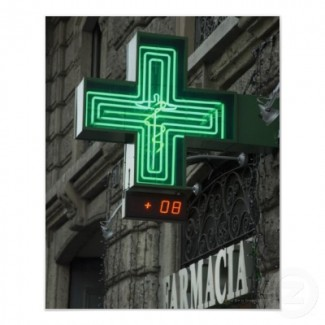 neon pharmacy sign