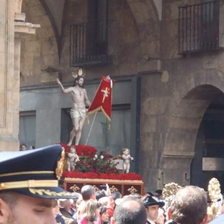 The Resurrection of Jesus float