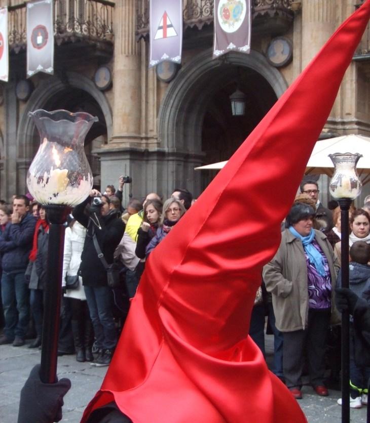 Semana Santa red hood