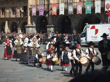Semana Santa in Salamanca Spain