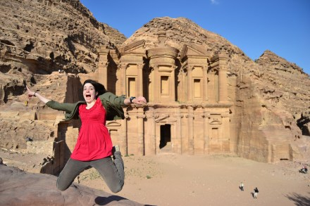 A monastery in Petra