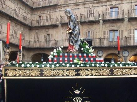 Virgin Float Semana Santa