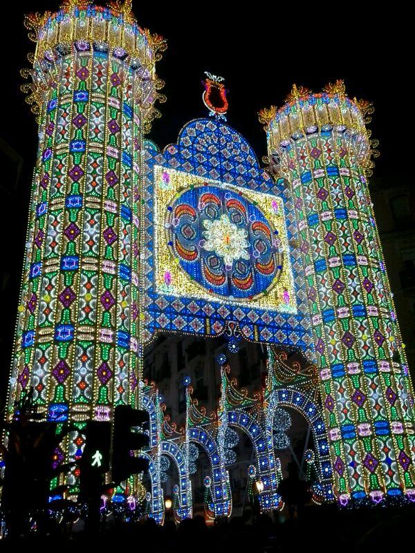 Light Show in Rusafa