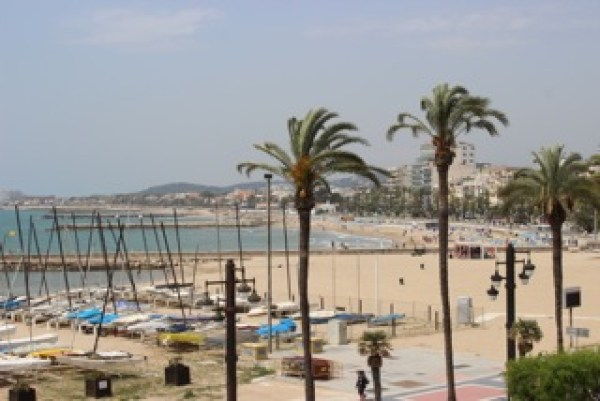 The Mediterranean in Sitges
