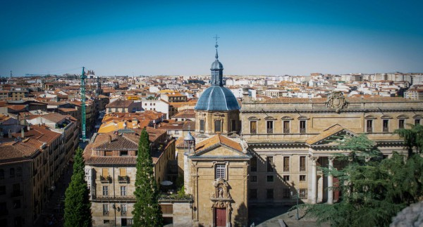 Again, from the top of the cathedral, you can see Salamanca beautiful landscape.