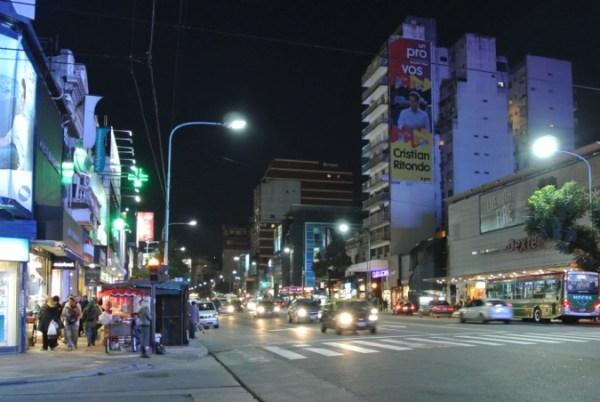 Cabildo at night