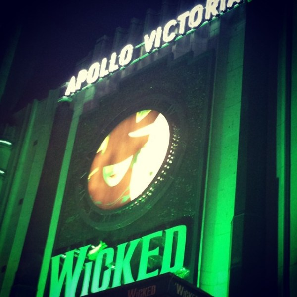 Wicked was just as well, wicked, as I remember it being in New York, if not better!