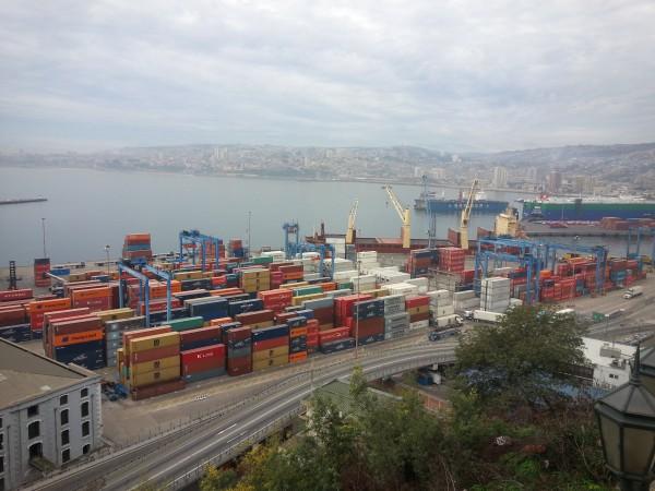 The view from Cerro Artilleria.