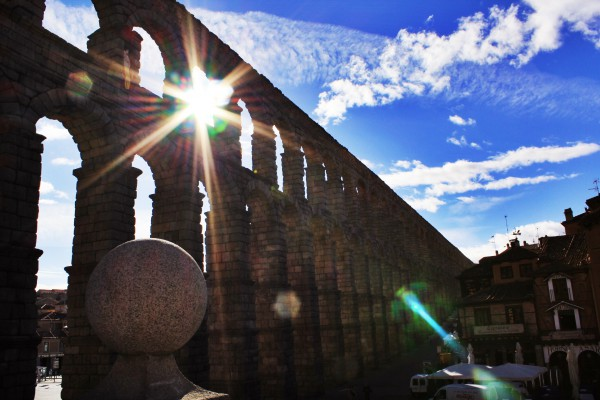 Aquaduct, Segovia, Spain - Johnson - photo 1