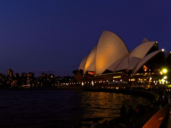 And after you get your fill of the Bridge, it's time to start taking photos of the incredible Sydney Opera House.