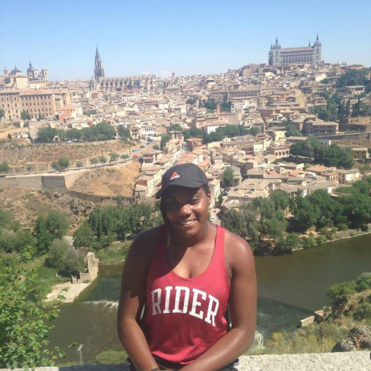 The view of Toledo was breathtaking.