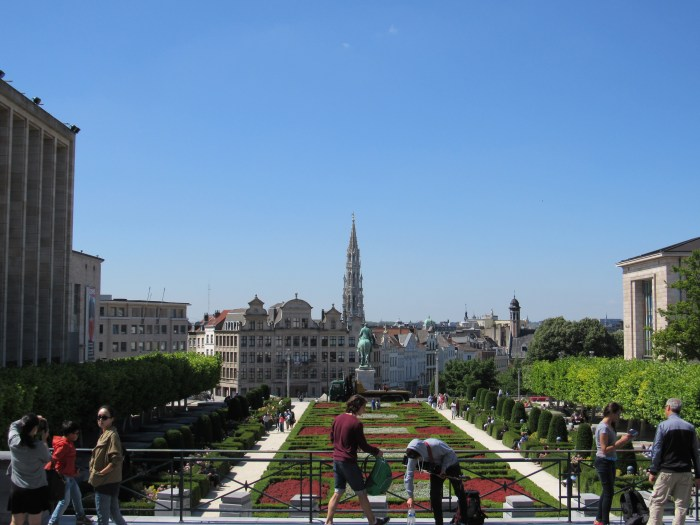 Place de la Albertine. Near the city center and throughout, Brussels offers beautiful views and a great taste of Europe.