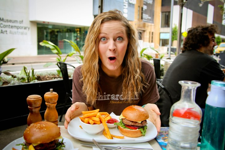 kangaroo burger, Sydney, Australia, Renard - Photo 13
